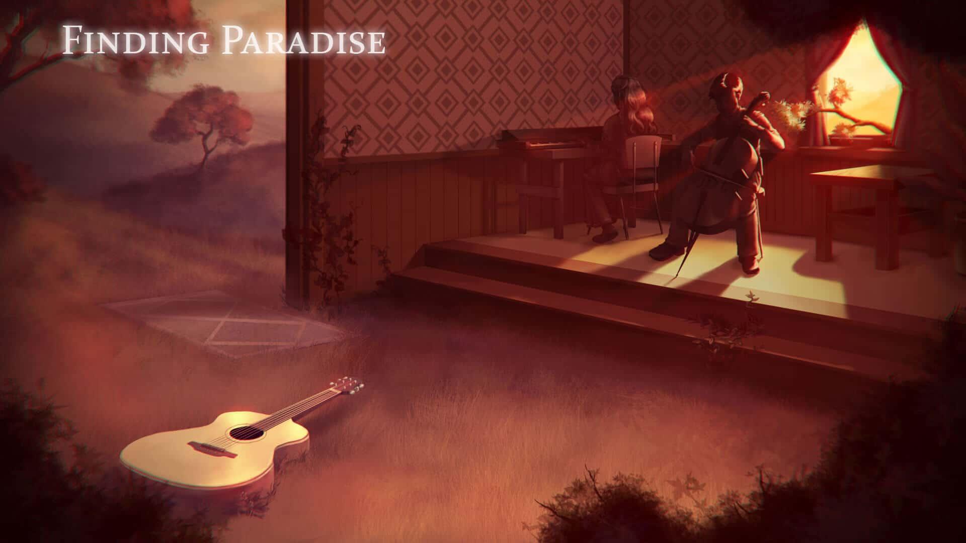 Finding Paradise Wallpaper