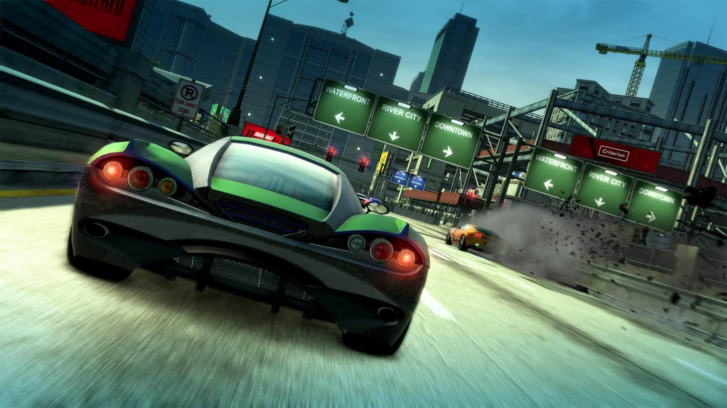 Remastered Burnout Paradise