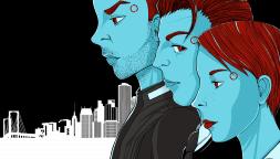 Un'illustrazione dedicata a Detroit: Become Human