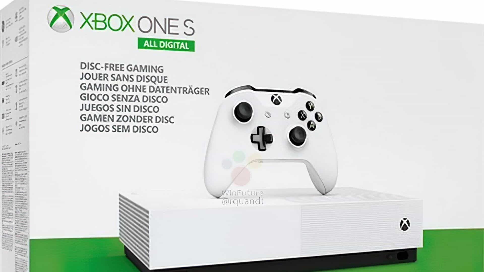 Xbox One All Digital
