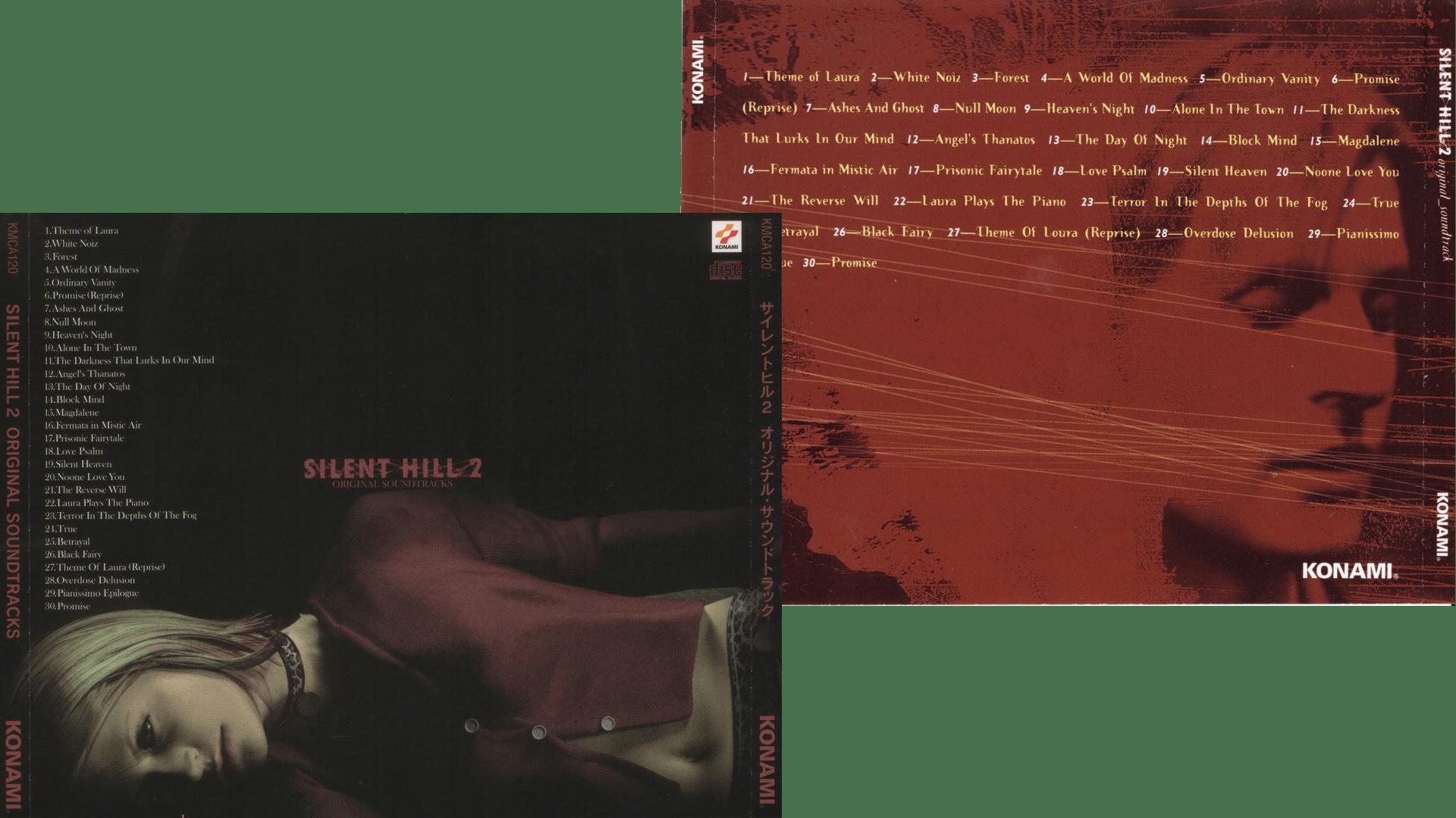 silent hill 2 colonna sonora jap eu