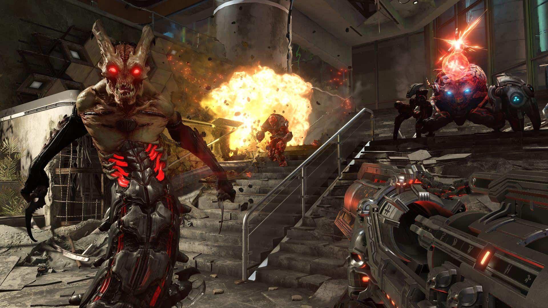Doom Eternal E3 Bethesda