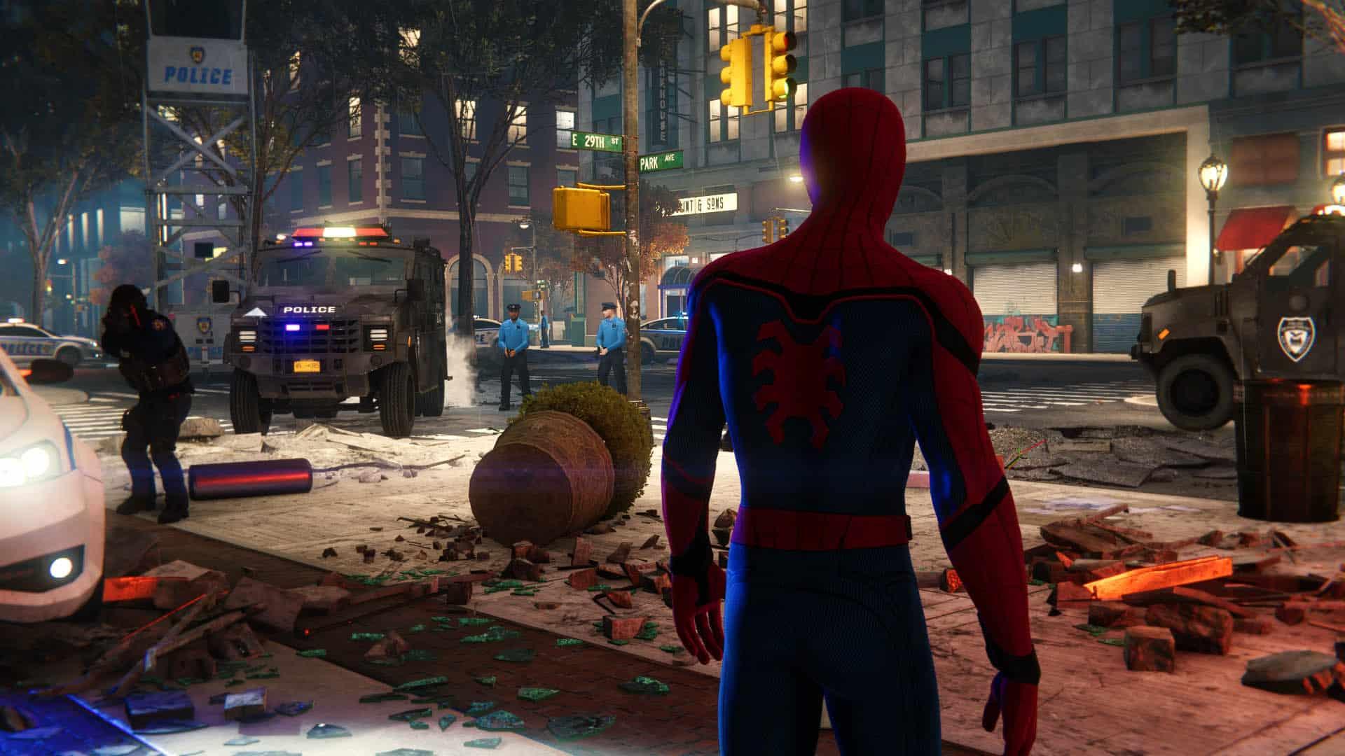 Bounce Light Spider-Man