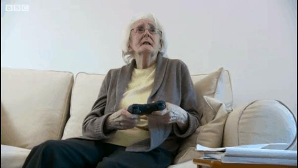 il giocatore tipo: il nonno