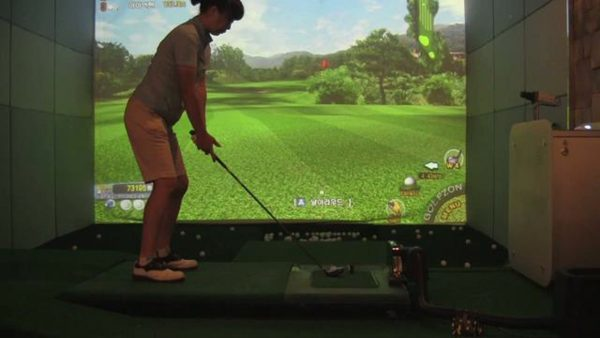 simulatore golf wii