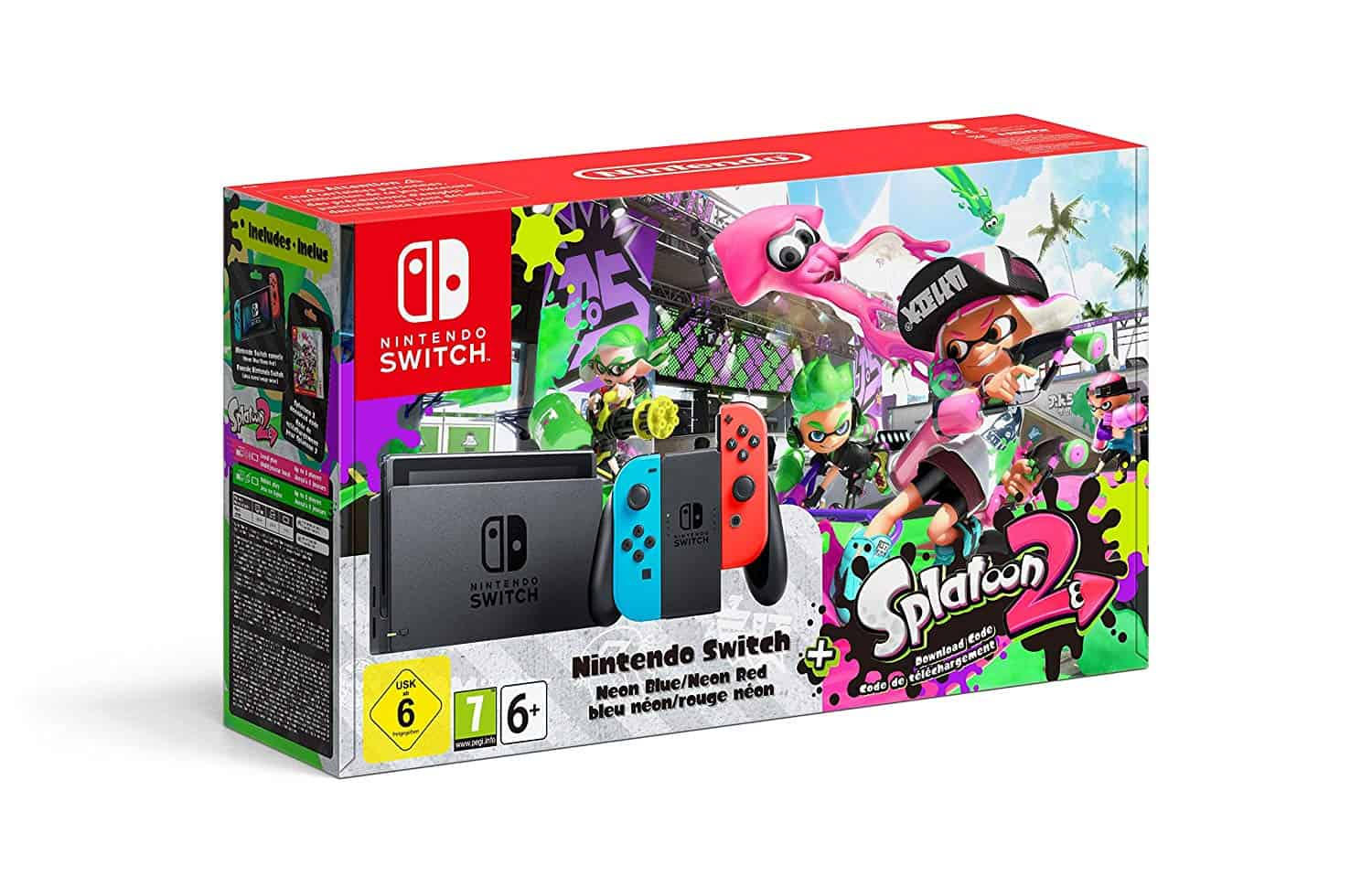 Nintendo Switch Splatoon 2 bundle