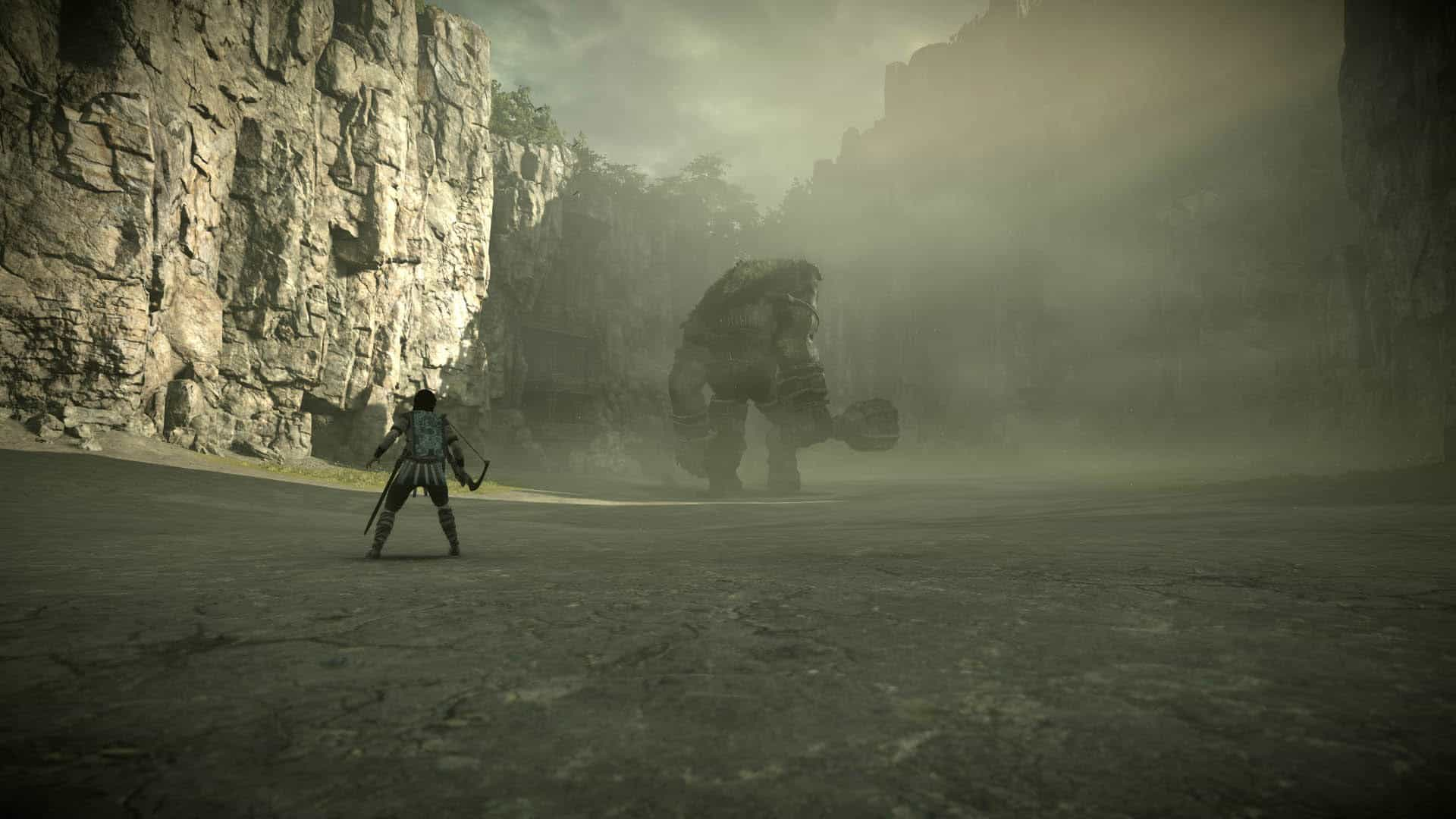 shadow of the colossus ps4 vignette effec