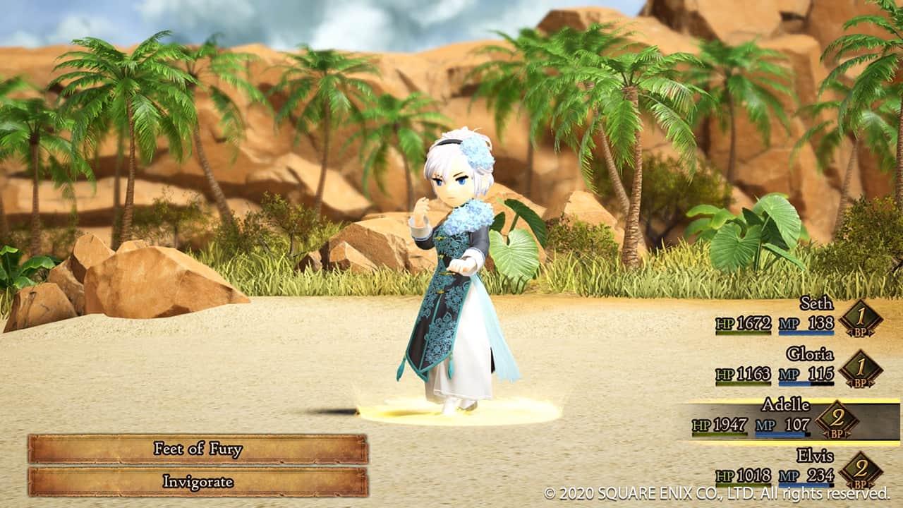 Bravely Default II Demo 01