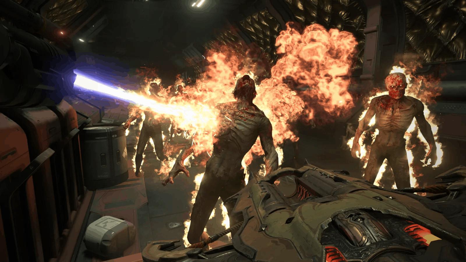 Doom eternal lanciafiamme