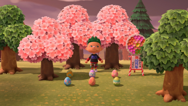 Animal Crossing New Horizons Caccia uovo pasqua 01