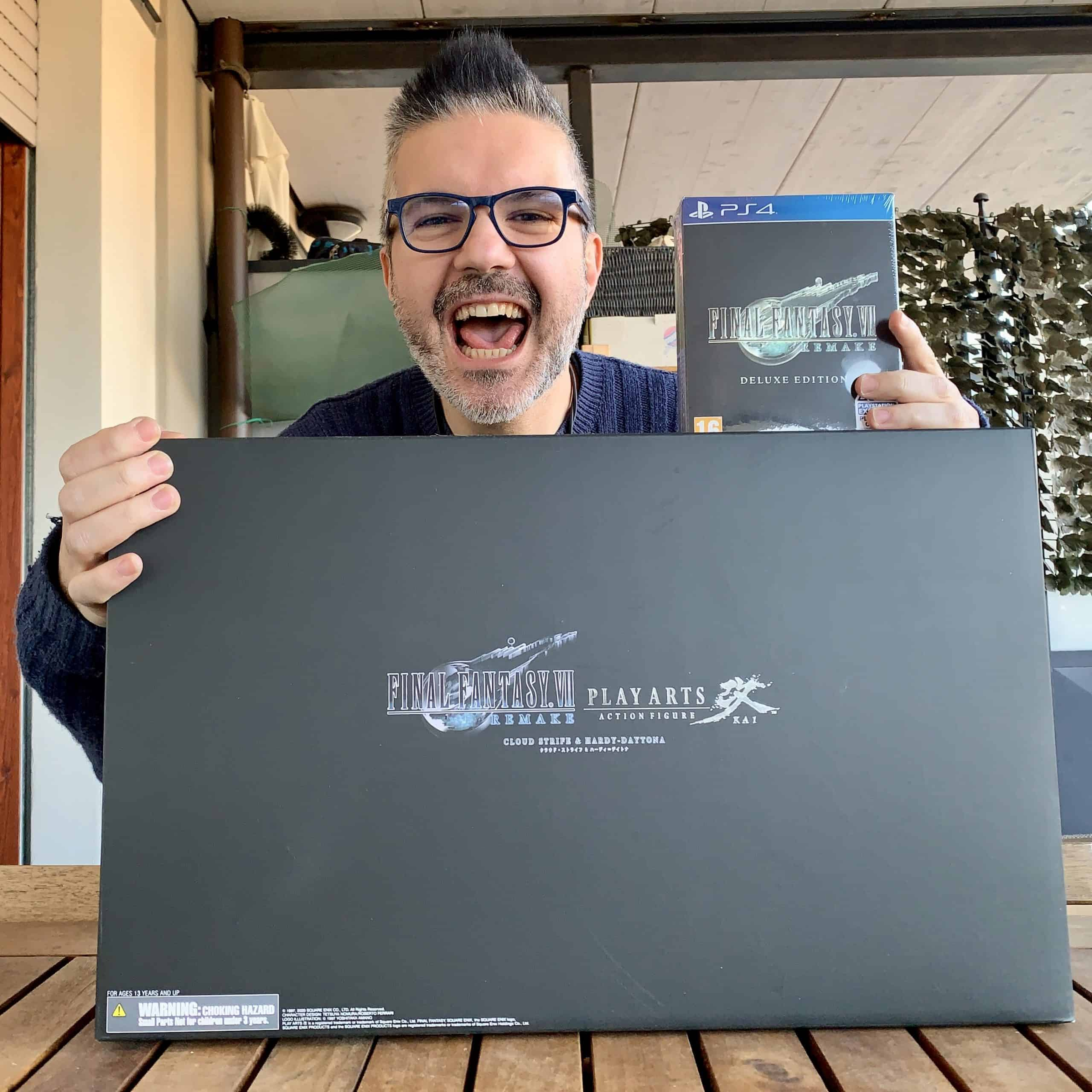 Unboxing Final Fantasy VII Remake 1st Class Edition