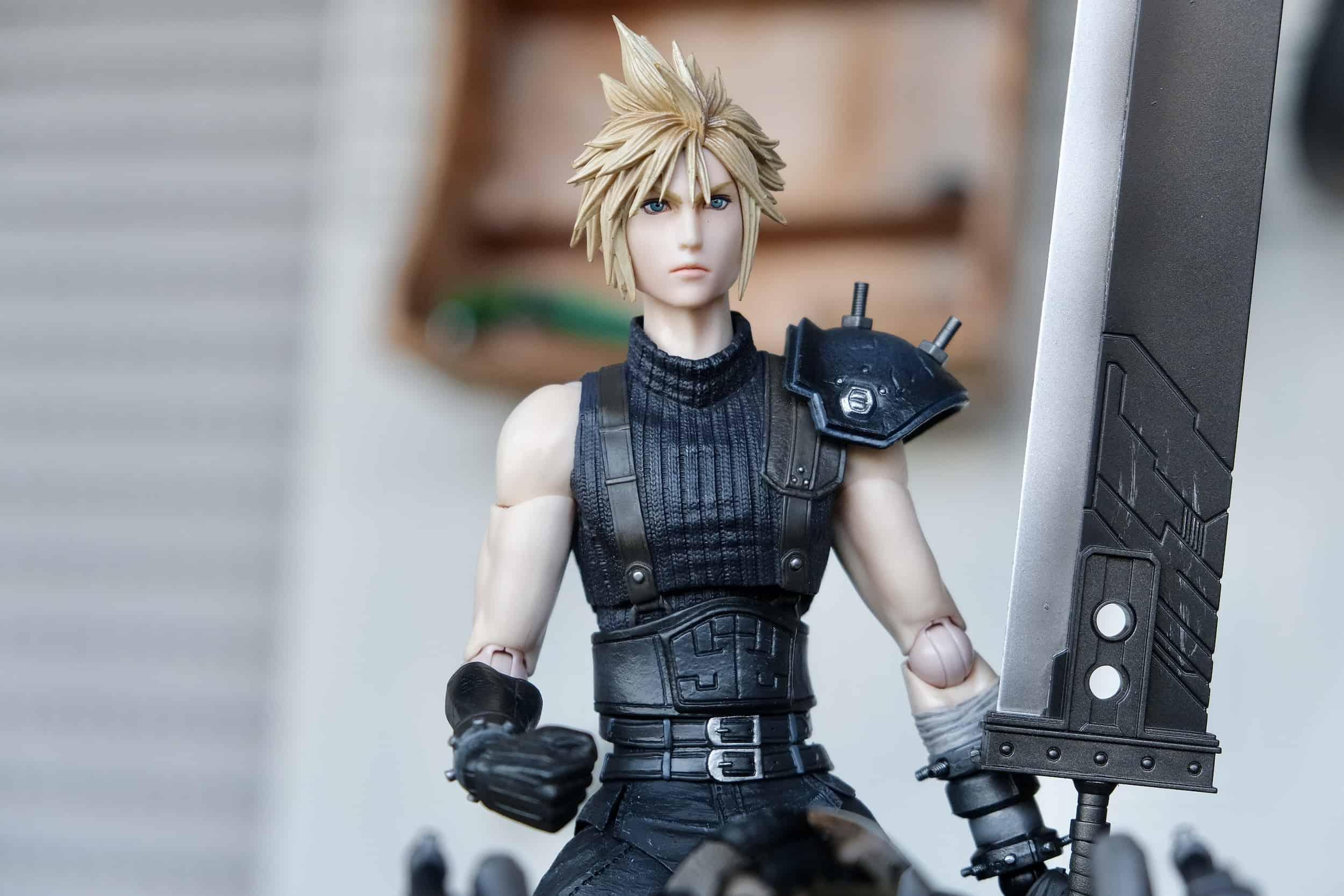 Cloud Strife Action Figure, Final Fantasy VII Remake