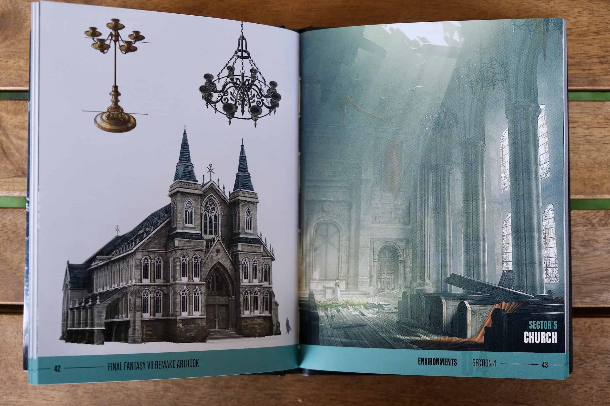 Artbook, Chiesa, Final Fantasy VII Remake