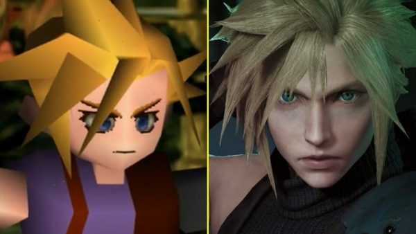 Final Fantasy VII Remake comparazione grafica