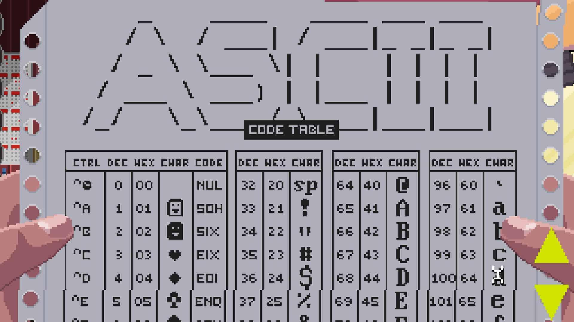 VirtuaVerse ASCII