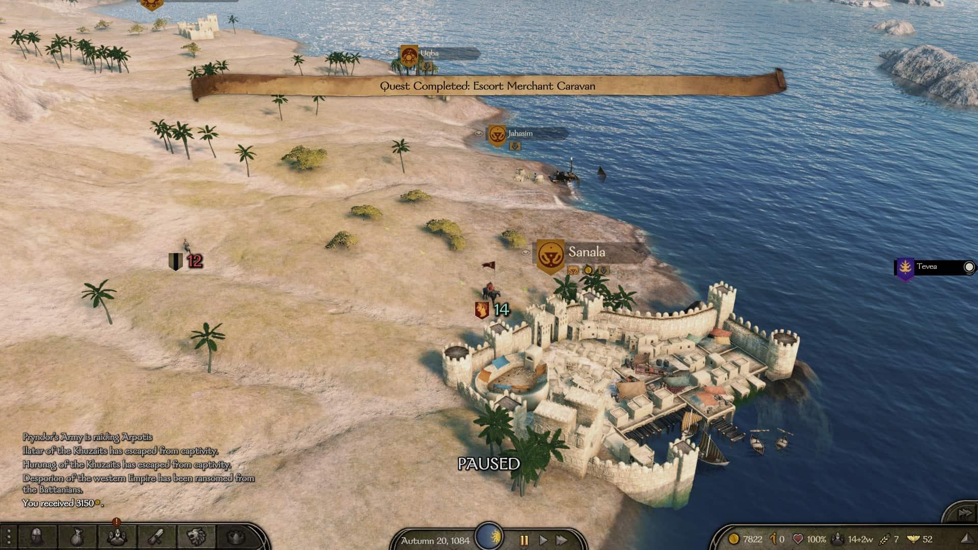 Mount & Blade II: Bannerlord città