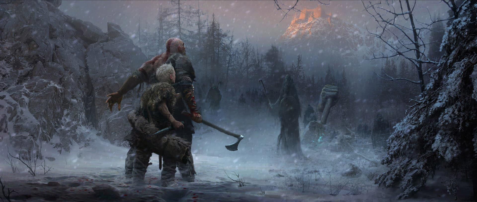 God of War 2018 Concept Art