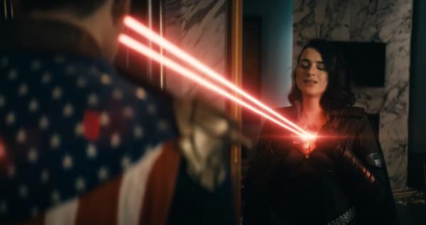 Aya Rachel Cash nei panni di Stormfront