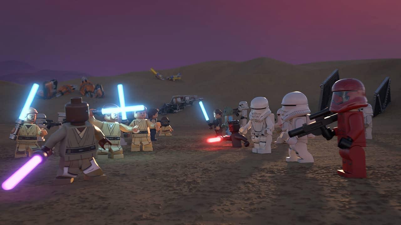 lego star wars holiday special una scena del film