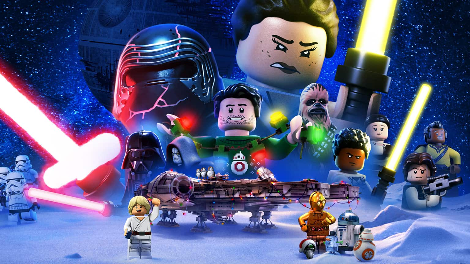 Lego star wars holiday special locandina