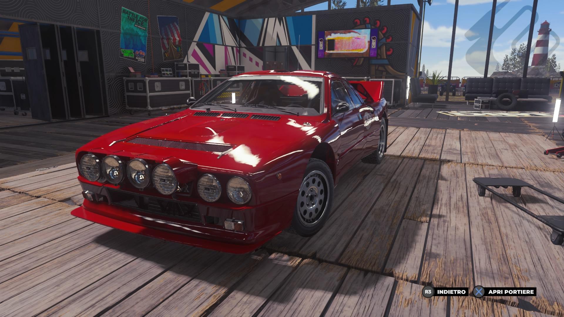 Dirt 5, Lancia 037 Evo