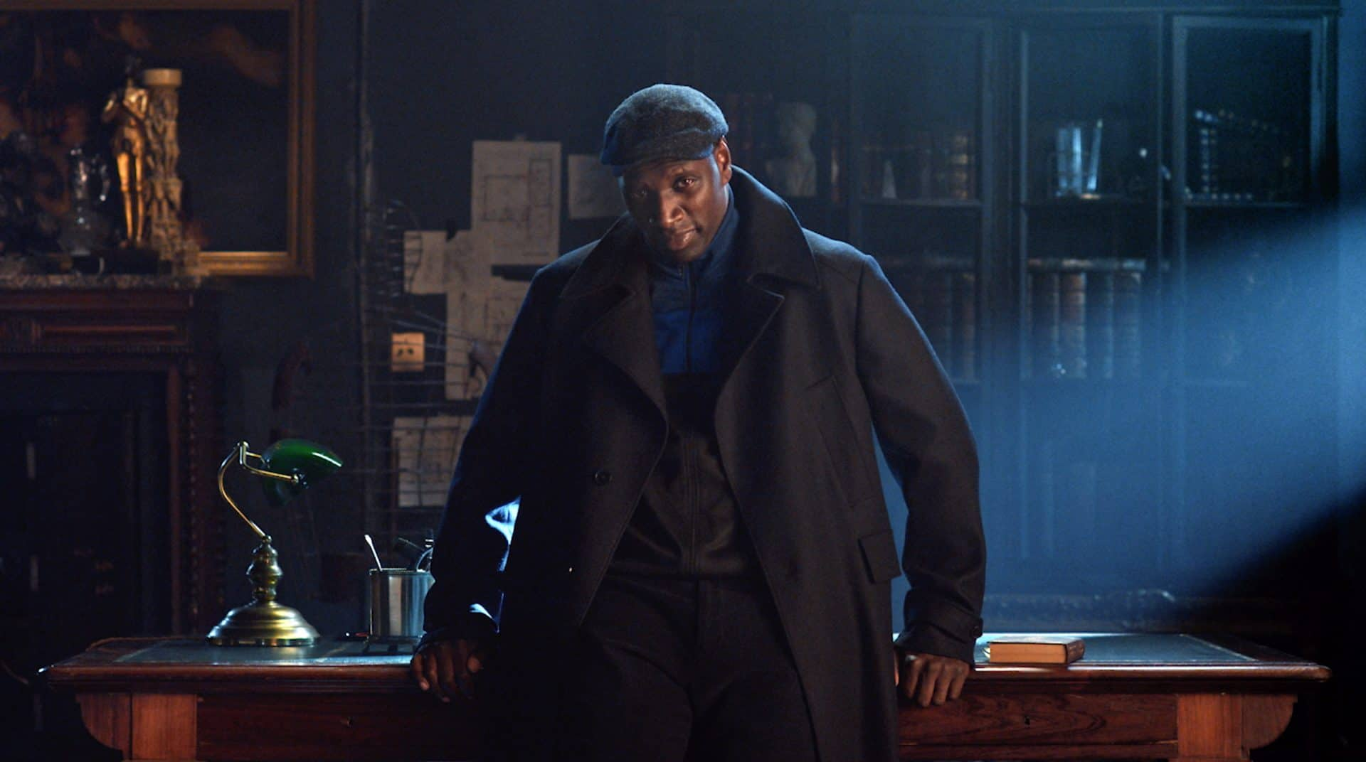 Lupin poster con Omar Sy
