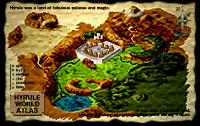 Ocarina of Time world map