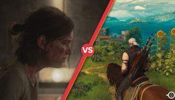 The Last of Us Parte II vs. The Witcher 3: Wild Hunt, scontro tra titani