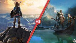 The Legend of Zelda: Breath of the Wild contro God Of War