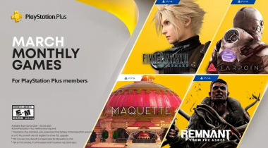 PlayStation Plus, quattro giochi a marzo (e c'è Final Fantasy VII Remake)