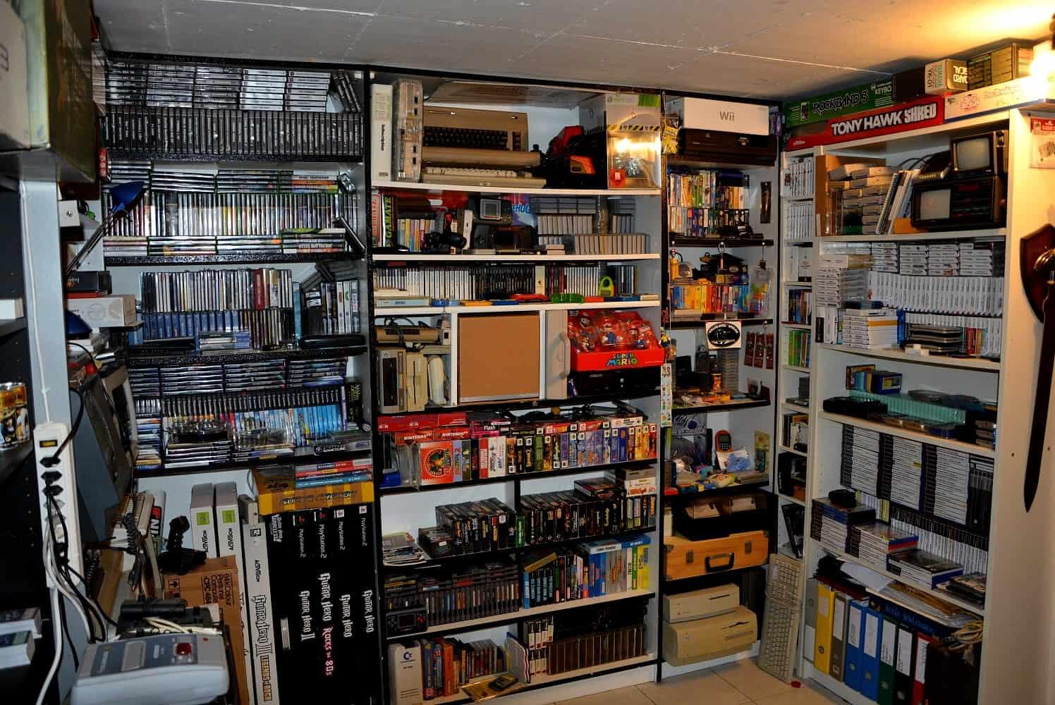 Collezionismo videogiochi collezione 01