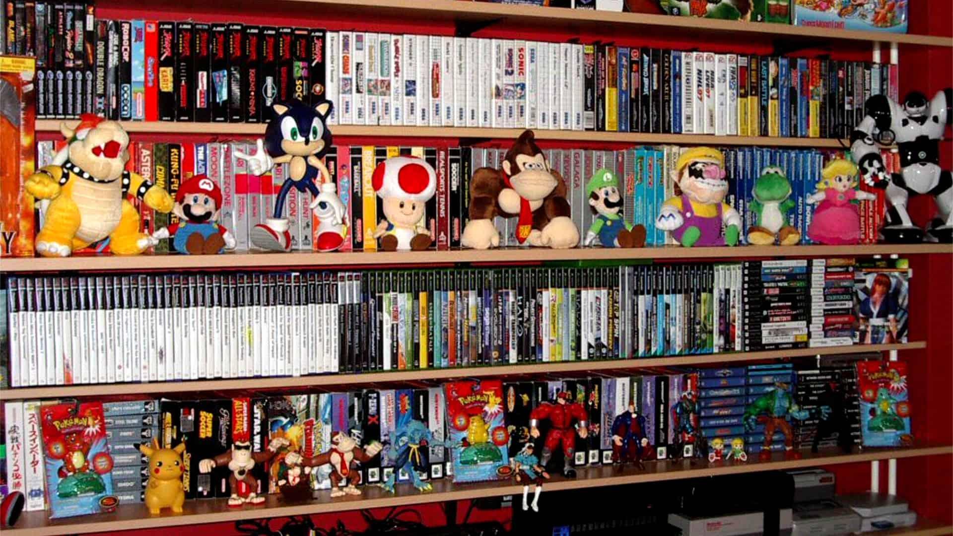 Collezionismo videogiochi collezione 02