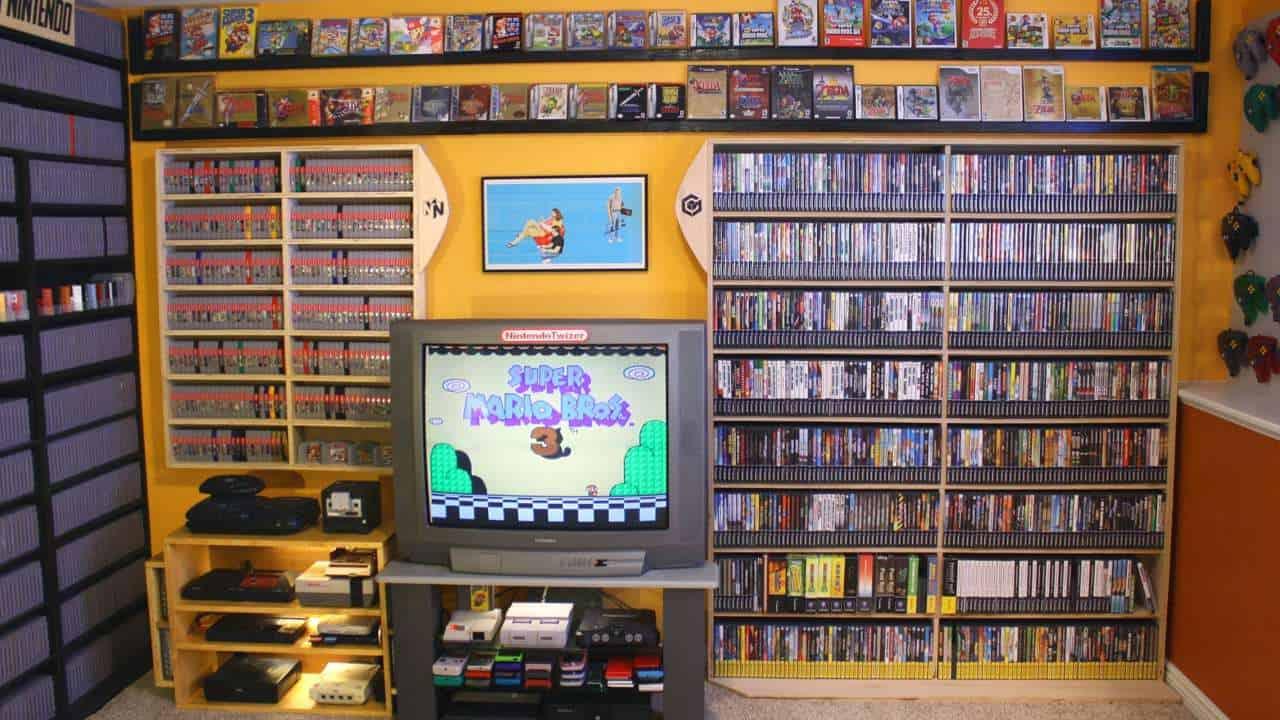 Collezionismo videogiochi collezione 03