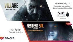 Stadia, la piattaforma di Google pronta ad accogliere Resident Evil 7 e Village