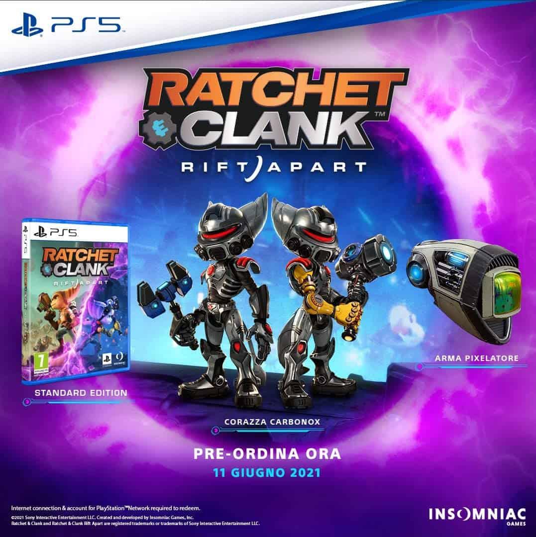 ratchet & clank sconto