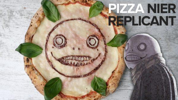 Artwork Pizza Nier