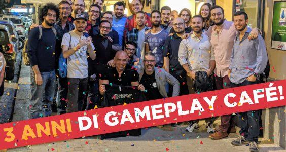 3 anni di Gameplay Café! Vi racconto il presente e il futuro