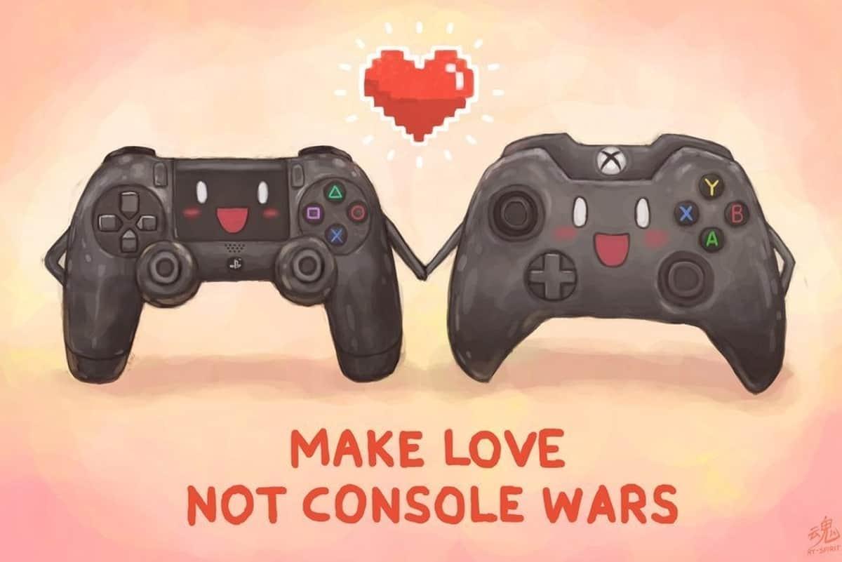 make love not console war