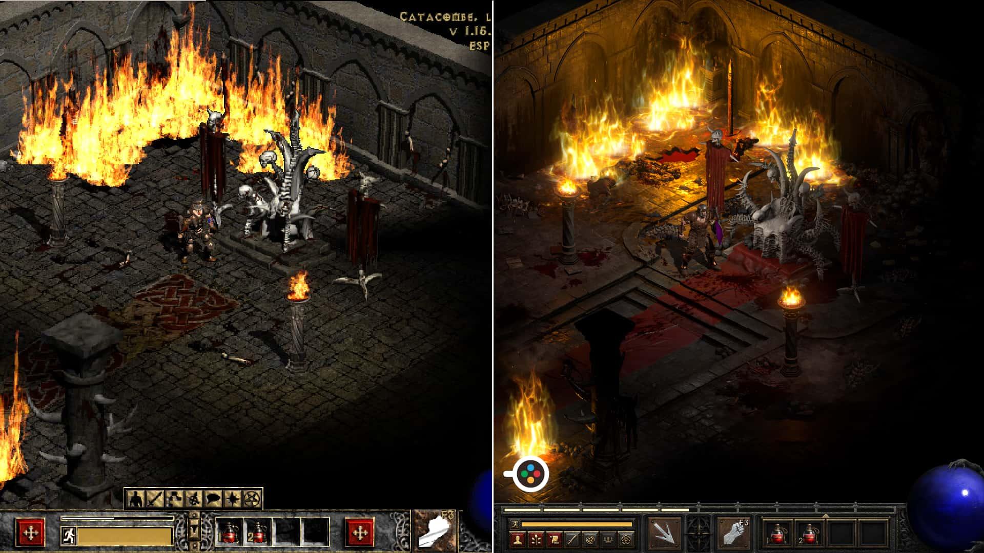 Diablo 2 prima e dopo