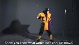 """Mortal Kombat, la nascita casuale del """"Get over here!"""" mostrata in un vecchio video"""