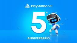 PlayStation VR compie cinque anni e regala tre giochi ai membri PS Plus